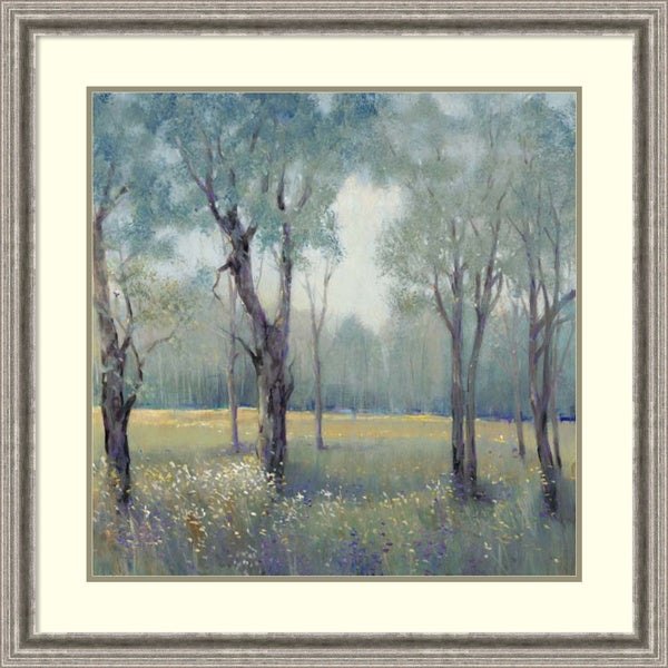 Framed Art Print 'Morning Mist' by Tim O'Toole 33 x 33-inch