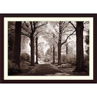 Framed Art Print 'Arcadia Forest' by Ily Szilagyi 43 x 31-inch