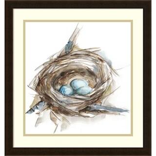 Framed Art Print 'Bird Nest Study II' by Ethan Harper 22 x 22-inch