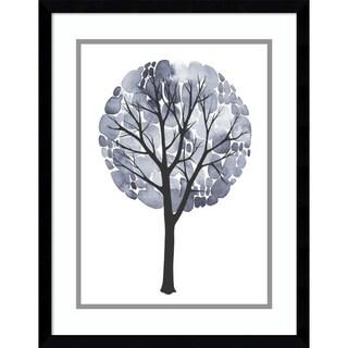 Framed Art Print 'Midnight Elm II' by Grace Popp 17 x 21-inch
