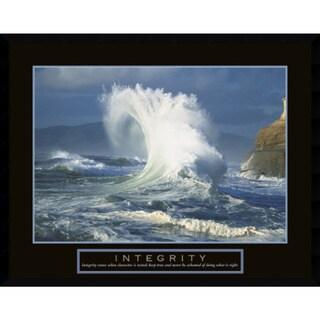 Framed Art Print 'Integrity: Wave' 29 x 23-inch