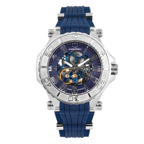 Aquaswiss 39GA004 Blue Stainless-steel Unisex Watch