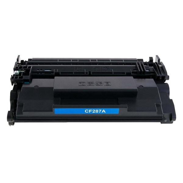 1PK Compatible CF287A Toner Cartridge For HP LaserJet Enterprise Flow M527c , M527dn , M506dn ( Pack of 1 )