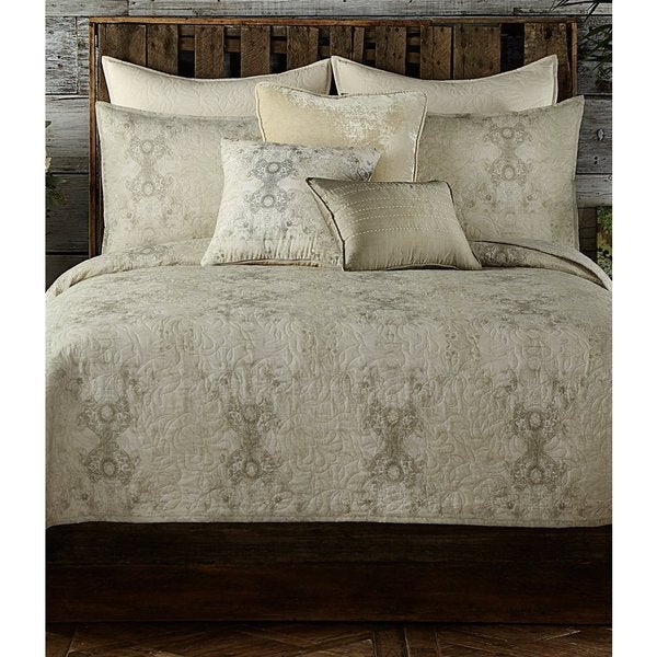 Tracy Porter Gigi Neutral Damask Quilt