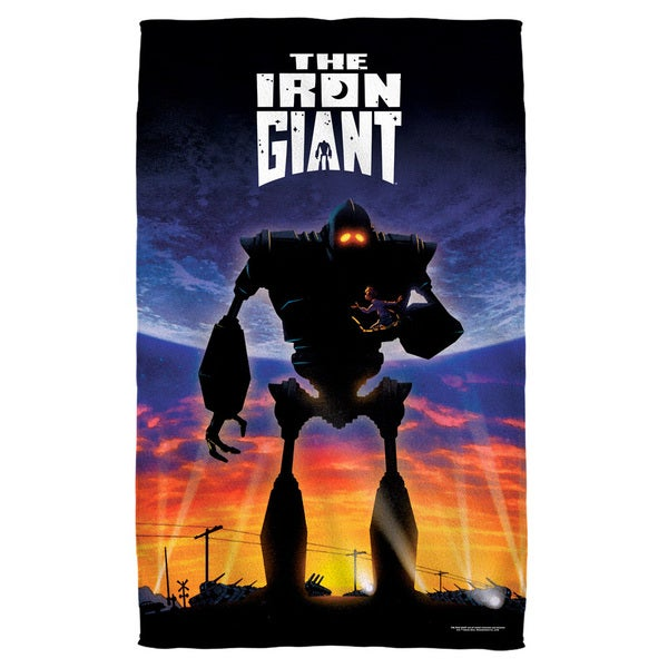 Iron Giant/Poster Bath Towel
