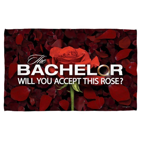 Bachelor/Rose Petals Bath Towel