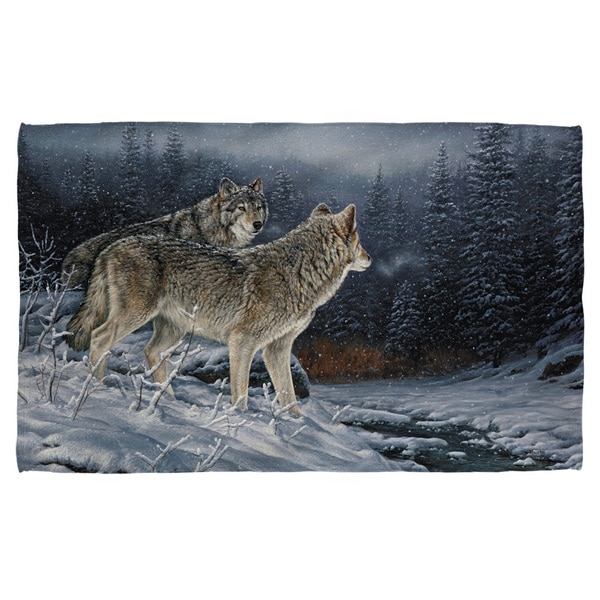 Wild Wings/Twilight Hunters 2 Bath Towel