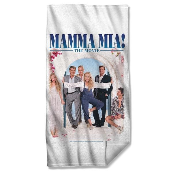 Mama Mia/Poster Beach Towel