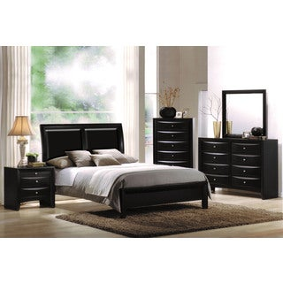 Ireland Black 4-piece Bedroom Set