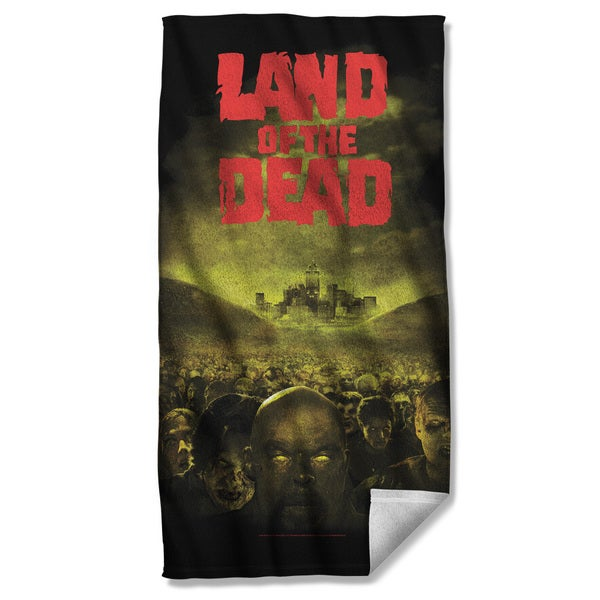 Land Of The Dead/Poster Beach Towel