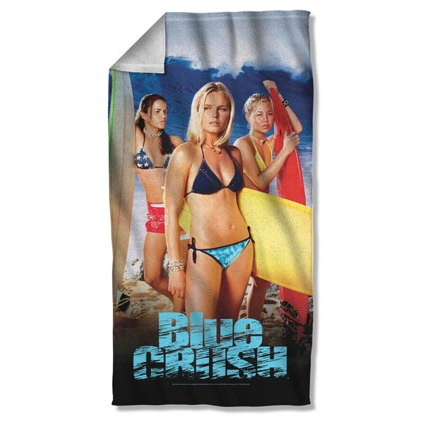 Blue Crush/Poster Beach Towel