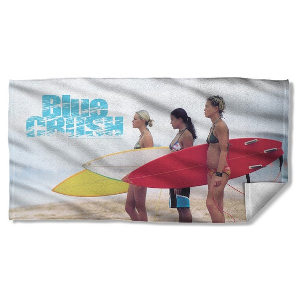 Blue Crush/Board Beach Towel