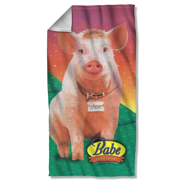 Babe/Sitting Pig Beach Towel