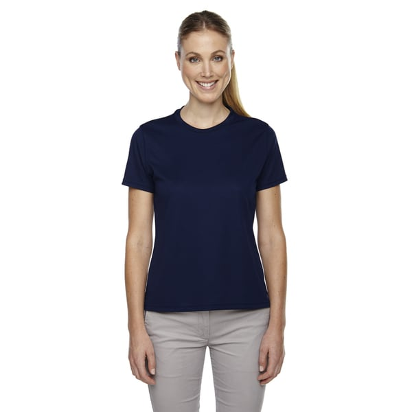 Pace Women's Performance Pique Crew Neck Classic Navy 849 Shirt