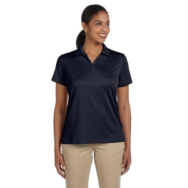 Double Mesh Women's Sport Navy Shirt