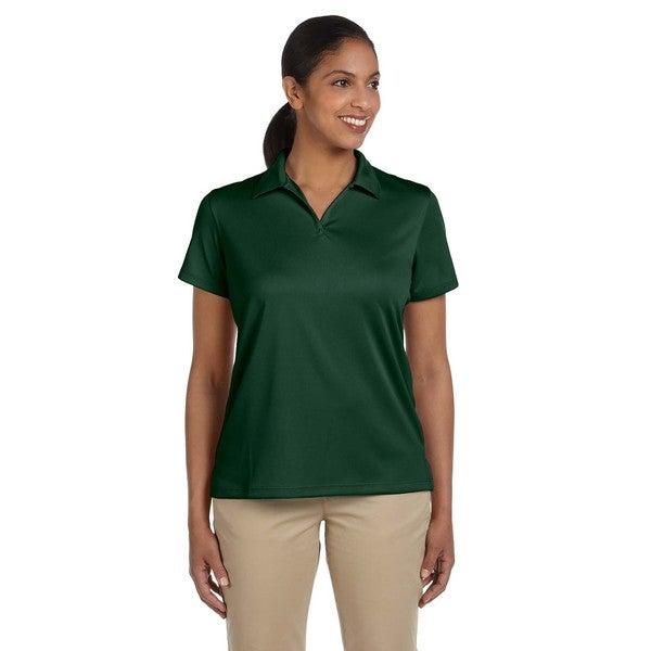 Double Mesh Women's Sport Dark Green Shirt