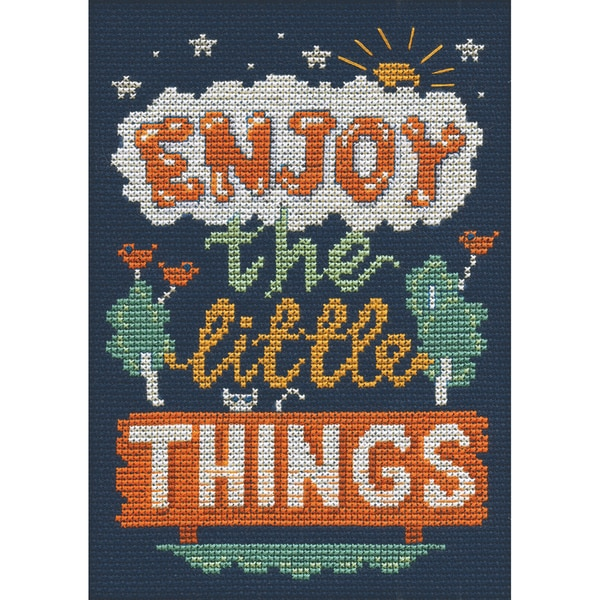 Little Things Mini Counted Cross Stitch Kit 19732747