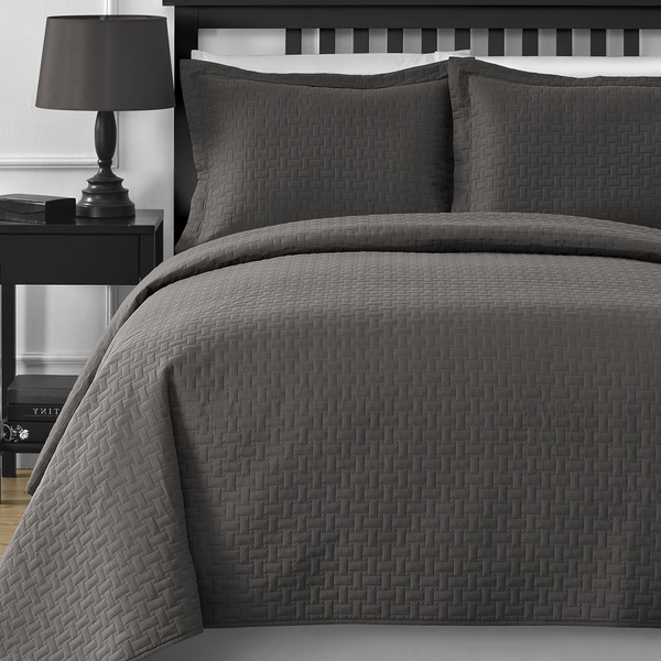 Comfy Bedding 3-piece Coverlet Set