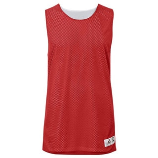Challenger Women's Reversible Mesh/Dazzle Red/White Jersey