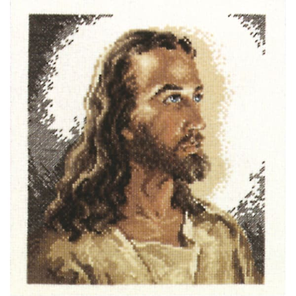 Portrait Of Christ Counted Cross Stitch Kit