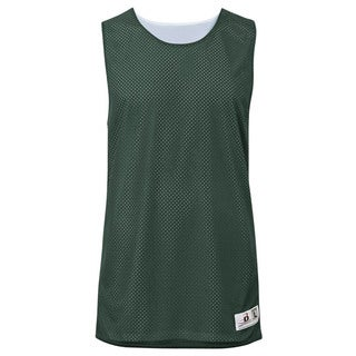 Challenger Women's Reversible Forest Green/White Mesh/Dazzle Jersey