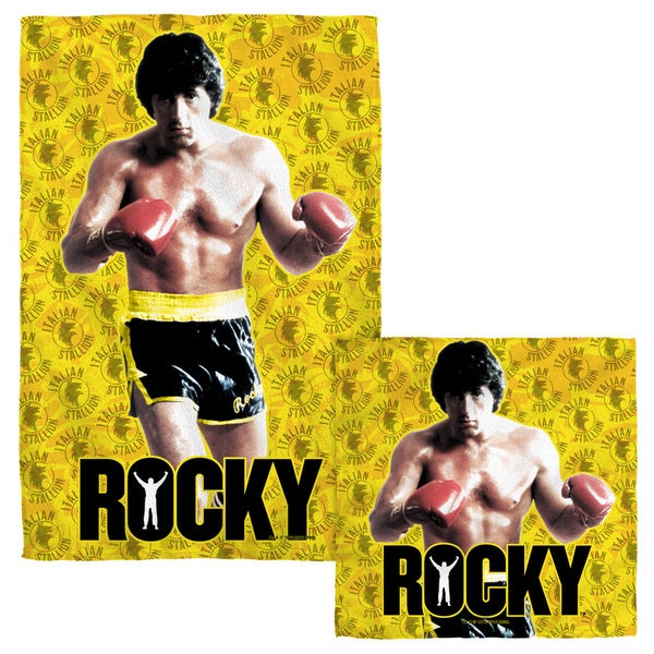 Rocky/Stallion Stance Face/Hand Towel Combo