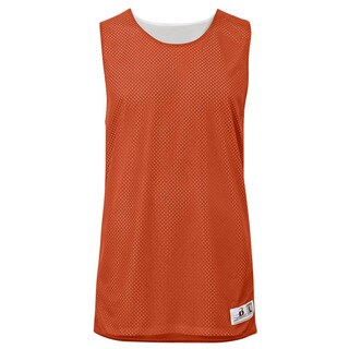 Challenger Women's Reversible Mesh/Dazzle Burnt Orange/White Jersey