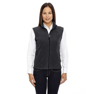 Journey Women's 745 Heather Charcoal Fleece Vest