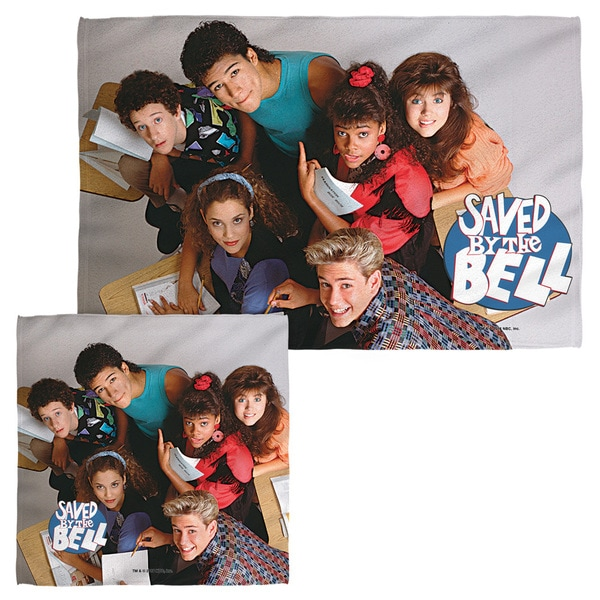 SAVED BY THE BELL/GROUP SHOT Face/Hand Towel Combo