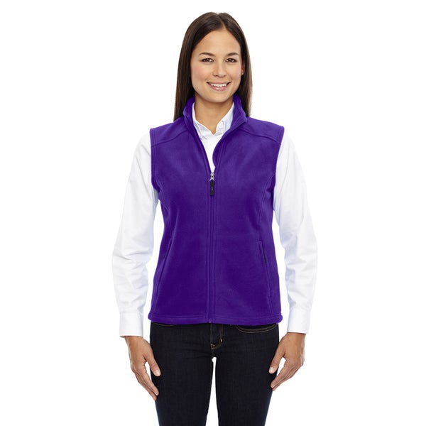 Journey Women's 427 Campus Purple Fleece Vest