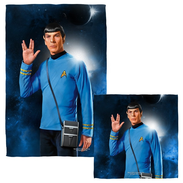 STAR TREK/SPOCK Face/Hand Towel Combo