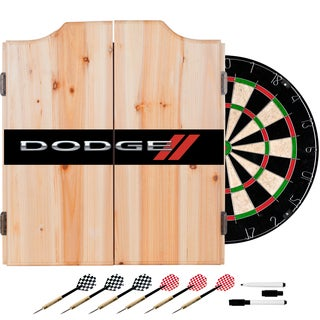 Dodge Dart Cabinet Set with Darts and Board