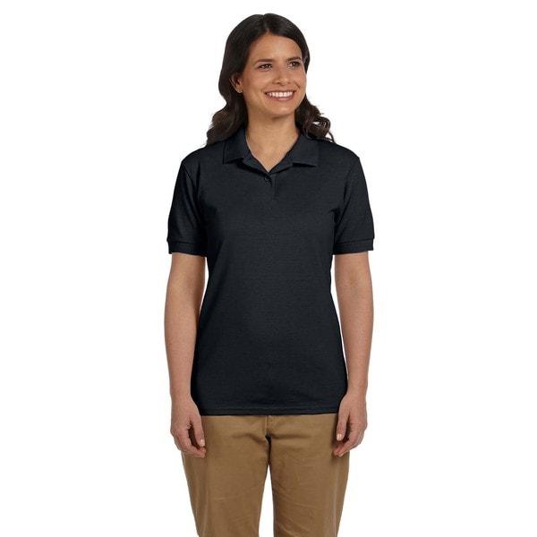 Dryblend Women's Pique Sport Black Shirt