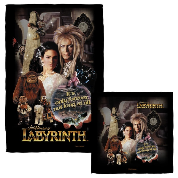 LABYRINTH/ONLY FOREVER Face/Hand Towel Combo