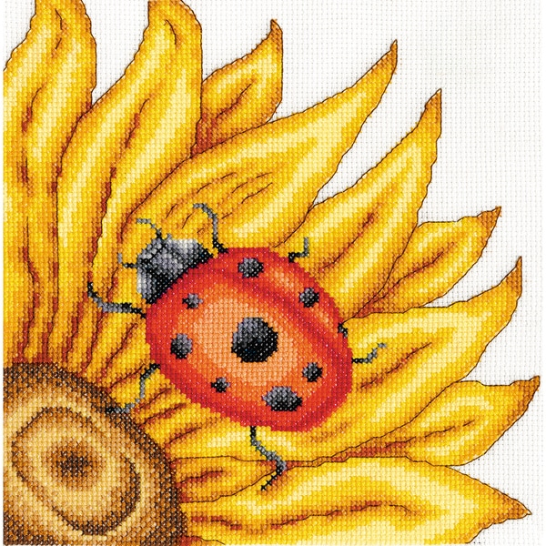 The Ladybird Counted Cross Stitch Kit