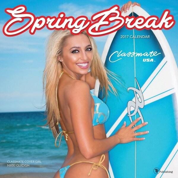 2017 Spring Break Wall Calendar 19734010