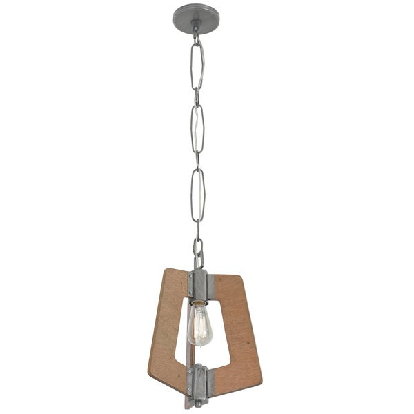 Varaluz Lofty 1-Light Wheat Mini Pendant