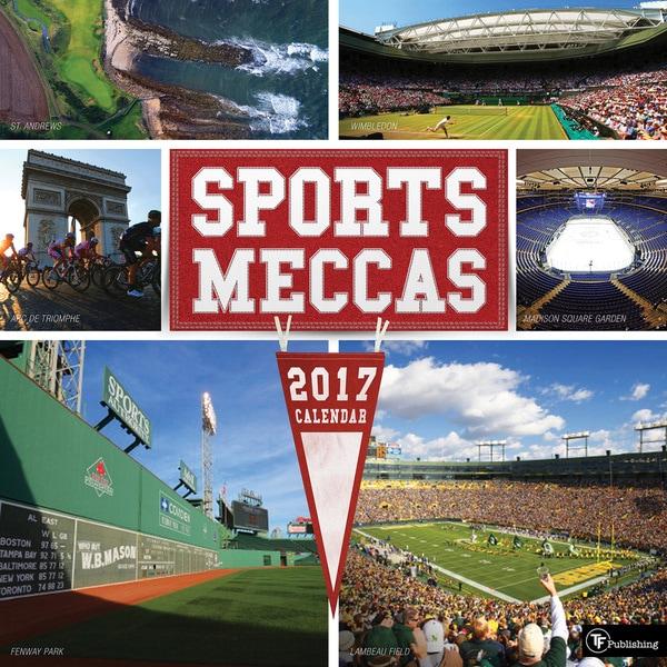 2017 Sports Meccas Wall Calendar
