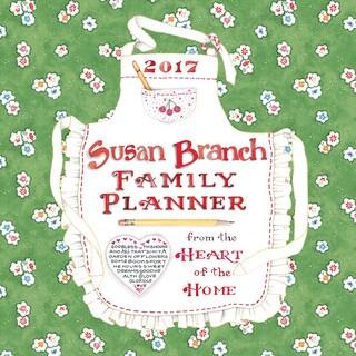 2017 Susan Branch Family Planner 12-month Wall Calendar