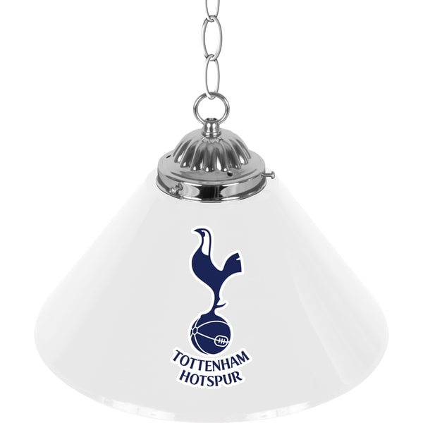 English Premier League 14 Inch Single Shade Lamp - Tottenham Hotspurs