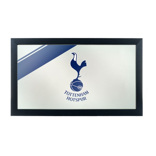 English Premier League Framed Logo Mirror - Tottenham Hot Spurs