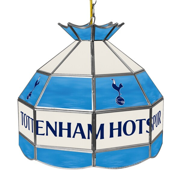 English Premier League 16 In Handmade Tiffany Lamp-Tottenham Hotspurs