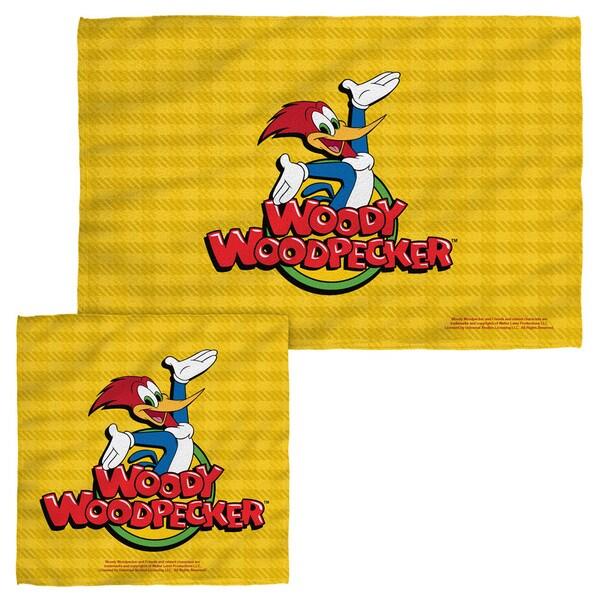 WOODY WOODPECKER/WOODY Face/Hand Towel Combo