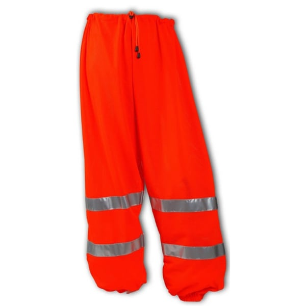 JOB SIGHT P70029 NSI 107 Class E Fluorescent Orange Polyester Mesh Pants