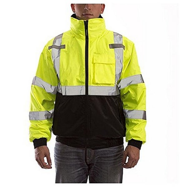 High Visibility J26172 100-percent Waterproof Jacket