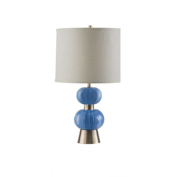 Nova Lighting Blue Michelin Table Lamp
