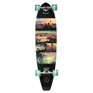 Kryptonics 37-inch x 9.5-inch Flat-tail Longboard Complete Skateboard