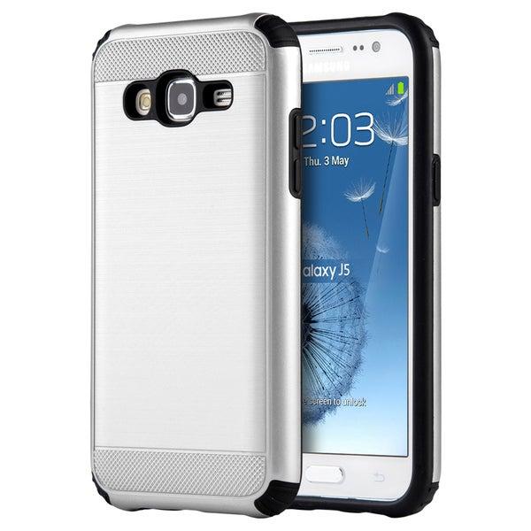 Samsung Galaxy J5 (2015) Silkee Armor PC/TPU Anti-shock Dual Hybrid Case