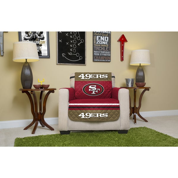 Officially NFL-Licensed San Francisco 49ers Chair Protector