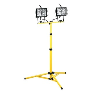 1000-watt 2-light Halogen with Tripod Floor Stand